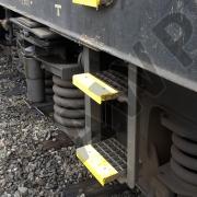 Antislip-oplossingen trein 2