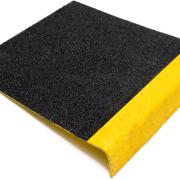 Geel-zwarte trapbescherming