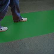Wandelpad groen