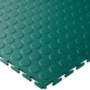 Groen raised disk 7 mm