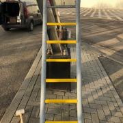 Voorbeeld 1 laddersportcover